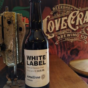 Emelisse White Label Imperial Russian Stout Early Jack BA 2018