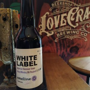 Cerveja Artesanal Emelisse White Label Russian Imperial Stout Islay Whiskey B.A. 2018 - Lovecraft BeerShop