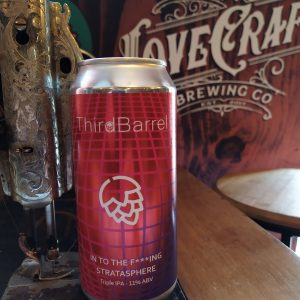Cerveja Artesanal Third Barrel Into The Fucking Stratasphere Triple IPA - Lovecraft BeerShop