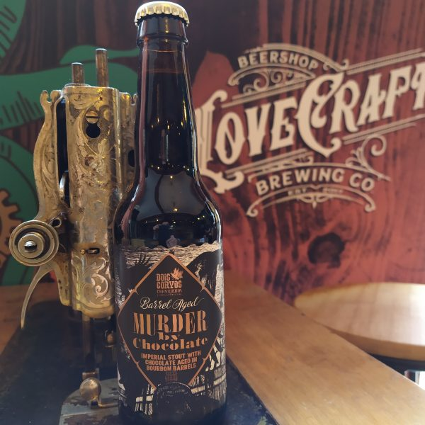 Dois Corvos Murder By Chocolate Imperial Stout With Chocolate Aged in Bourbon Barrels