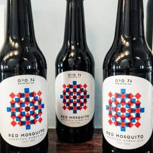 Cerveja Artesanal Portuguesa OPO 74 Red Mosquito American Amber Ale - Lovecraft BeerShop