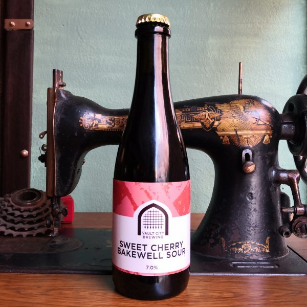 Cerveja Artesanal Vault City Sweet Cherry Bakewell Sour - Lovecraft BeerShop